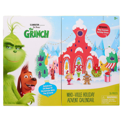 2018 Grinch Advent Calendar Available Now!