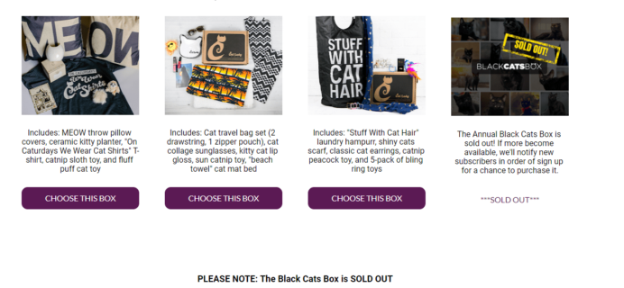Cat Lady Box Deal: Get $5 Off Your First Box! TODAY ONLY!