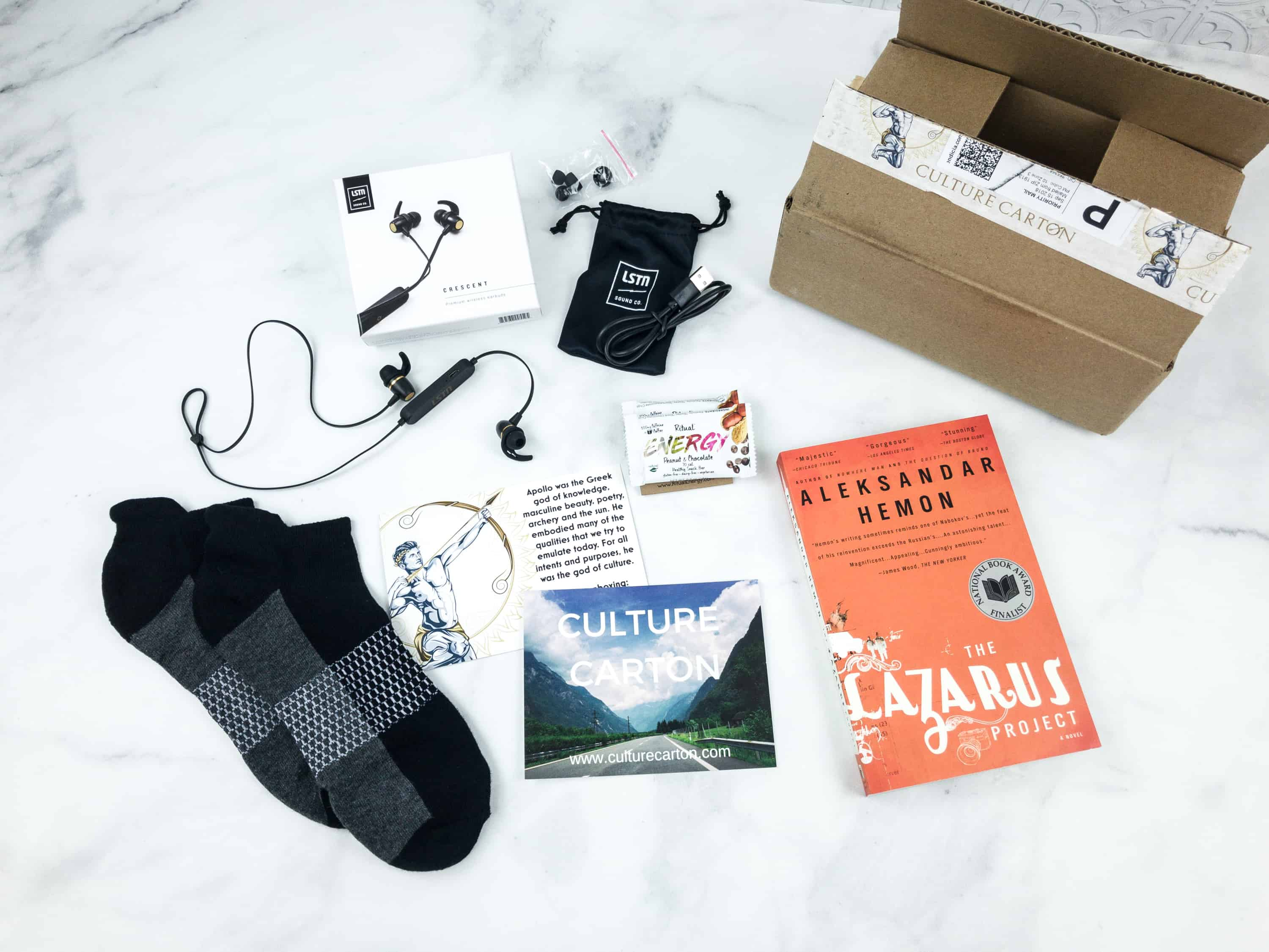 Culture Carton September 2018 Subscription Box Review + Coupon