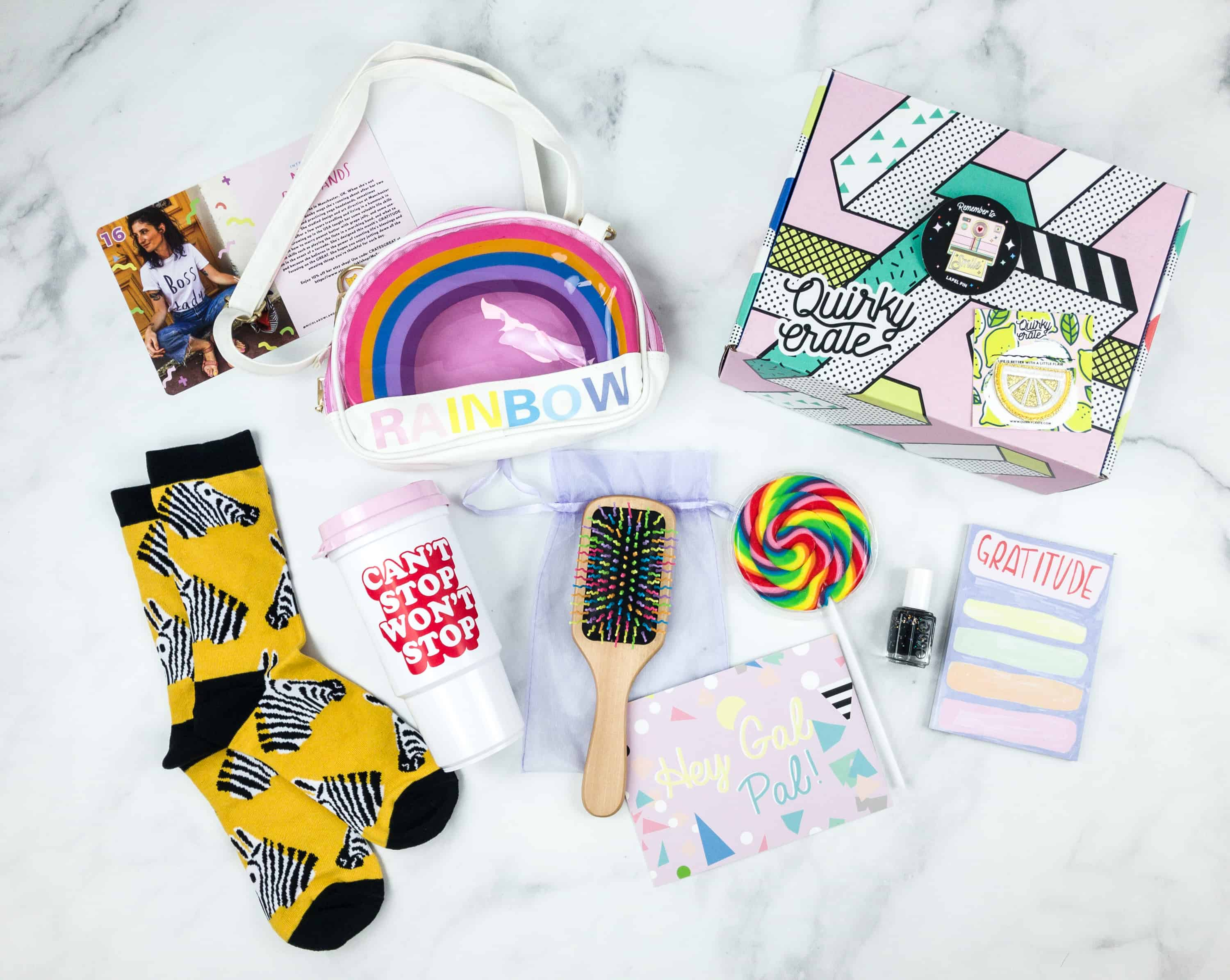 Quirky Crate September 2018 Subscription Box Review + Coupon