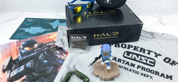 Halo Legendary Crate August 2018 Subscription Box Review + Coupon