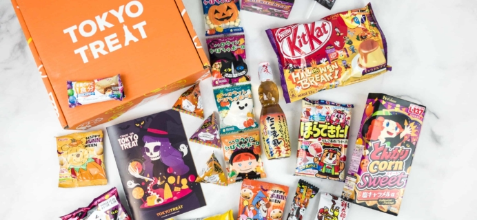 Tokyo Treat October 2018 Subscription Box Review + Coupon
