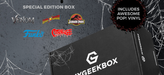My Geek Box Special Edition Chaos Box Available Now + Full Spoilers!