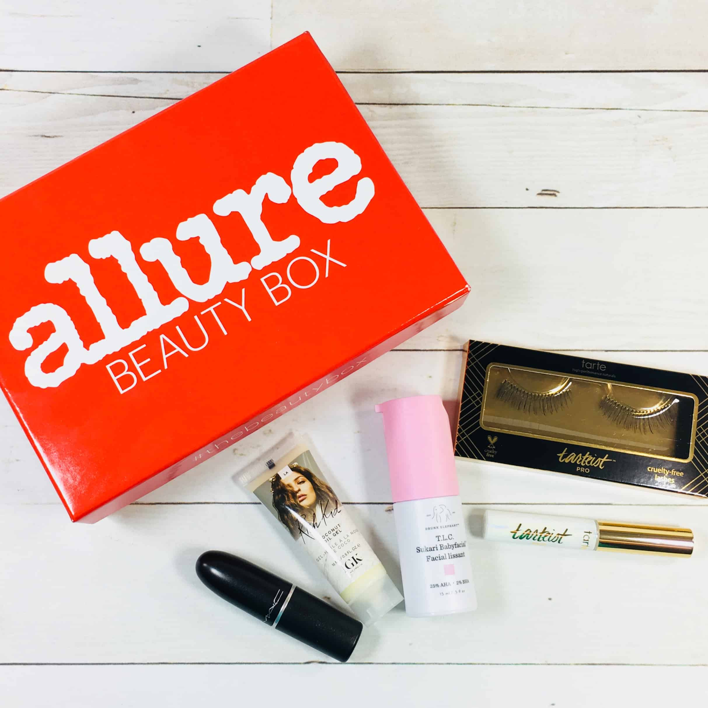 Allure Beauty Box September 2018 Subscription Box Review & Coupon