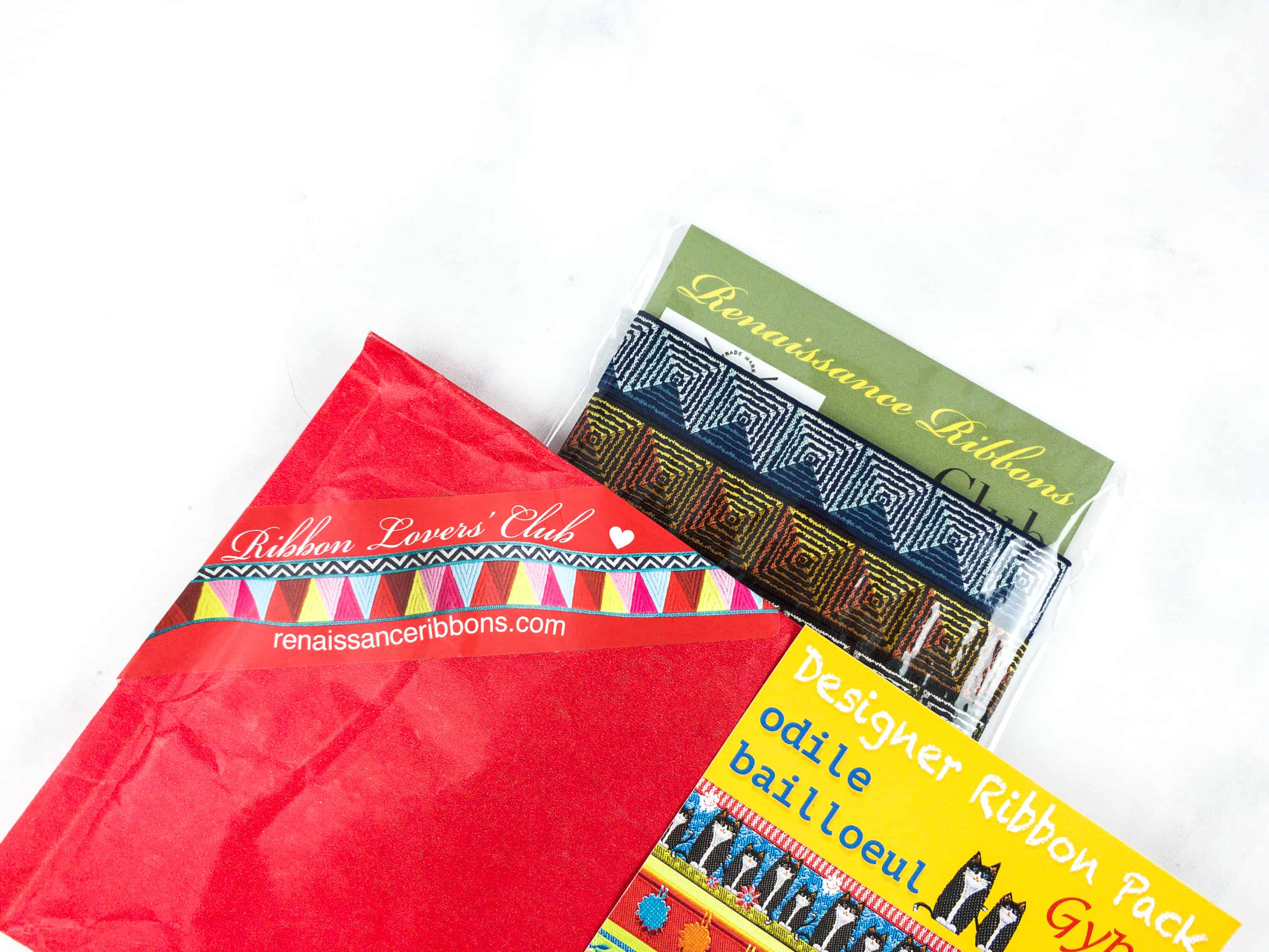 Renaissance Ribbons Ribbon Lovers' Club September 2018 Subscription Review + Coupon