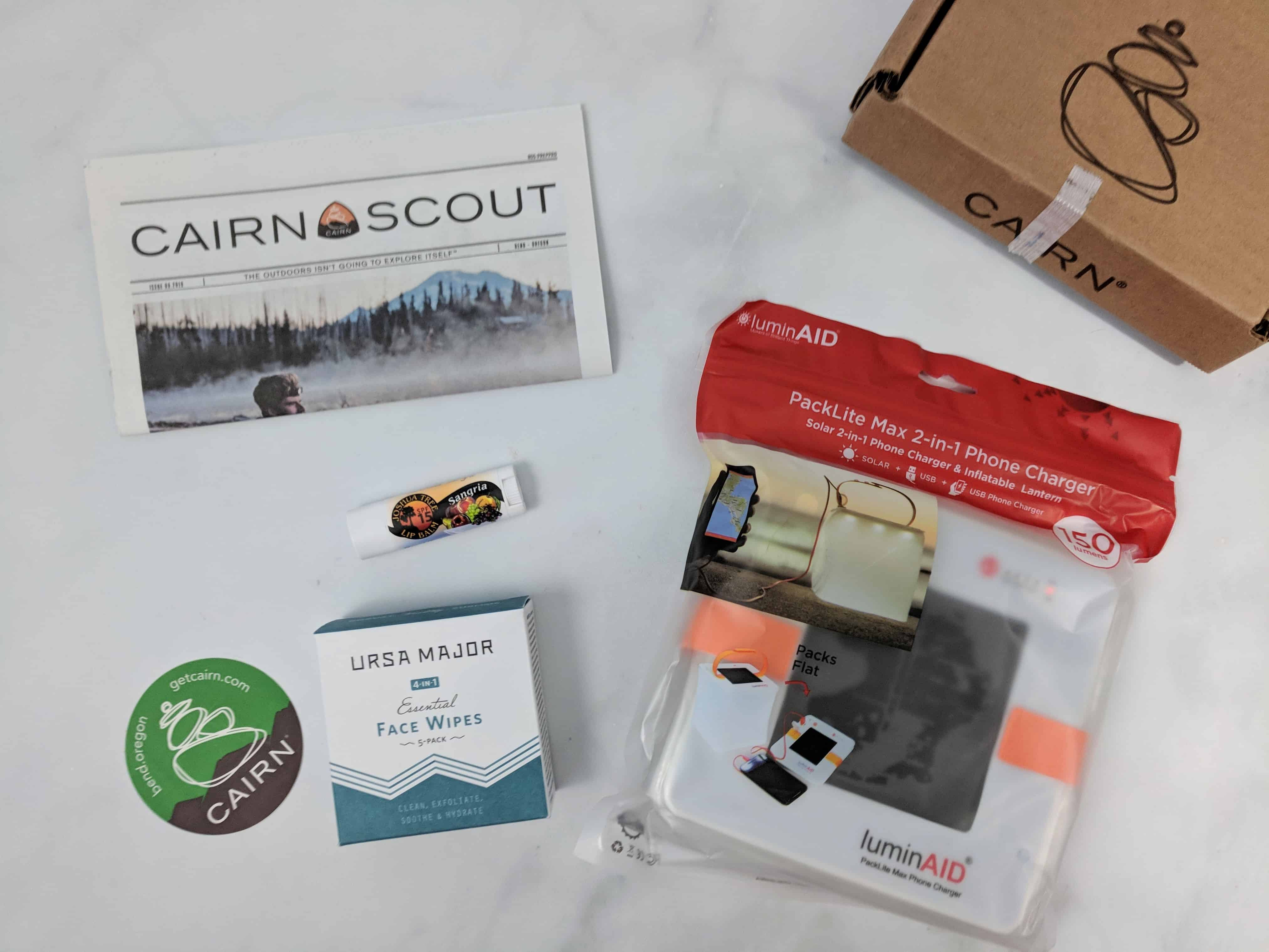 Cairn September 2018 Subscription Box Review + Coupon