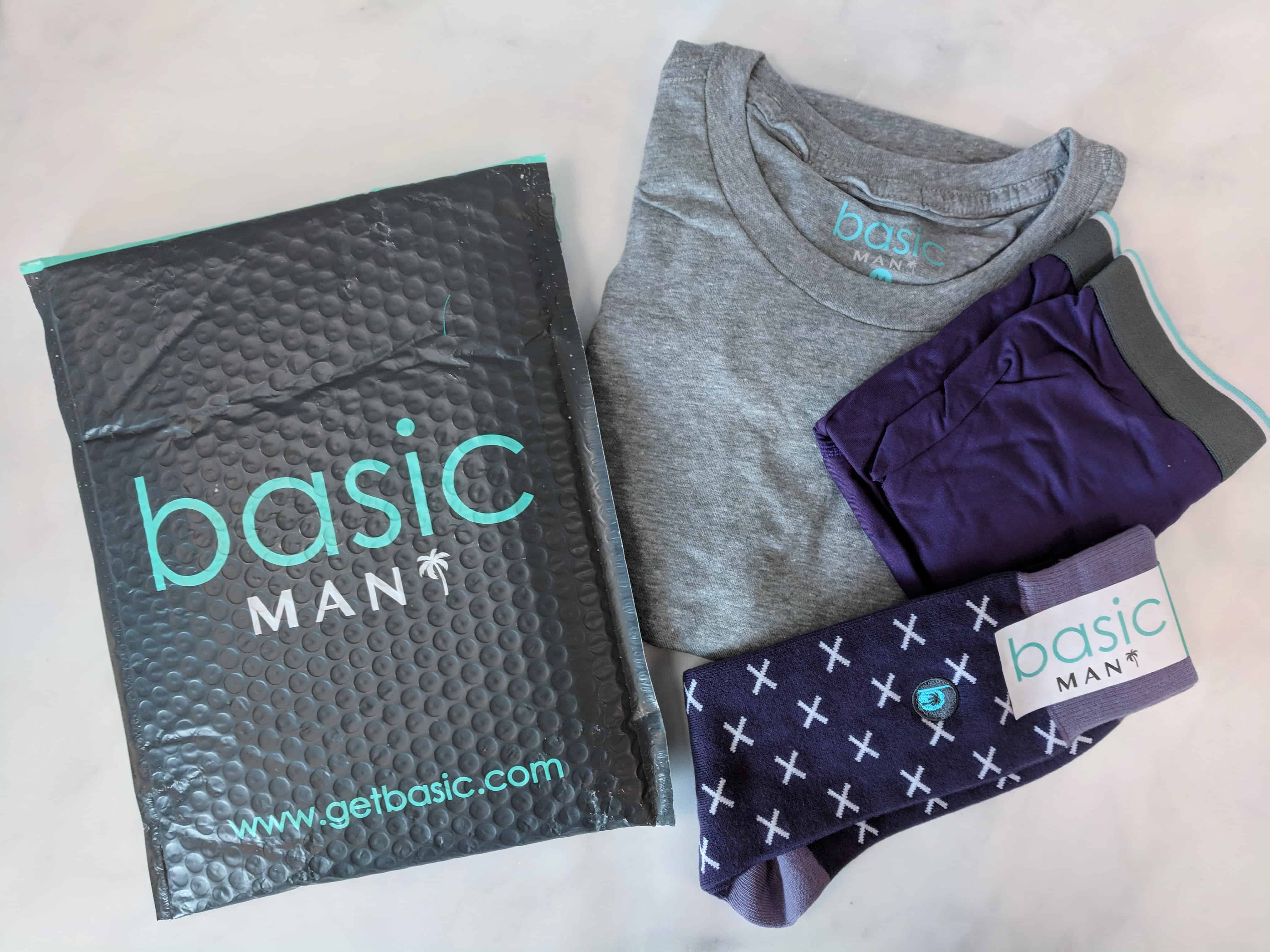 Basic MAN Subscription Box Review + Buy One Get One FREE Coupon – September 2018