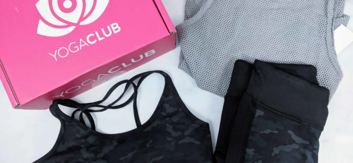 YogaClub Subscription Box Review + Coupon – September 2018