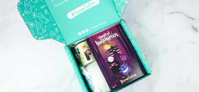YumeTwins October 2018 Subscription Box Review + Coupon