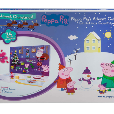 2018 Peppa Pig Advent Calendars Available Now!