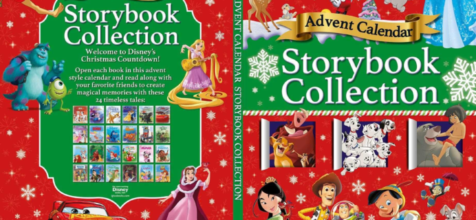 2018 Disney Storybook Advent Calendar Available For Pre-Order Now!