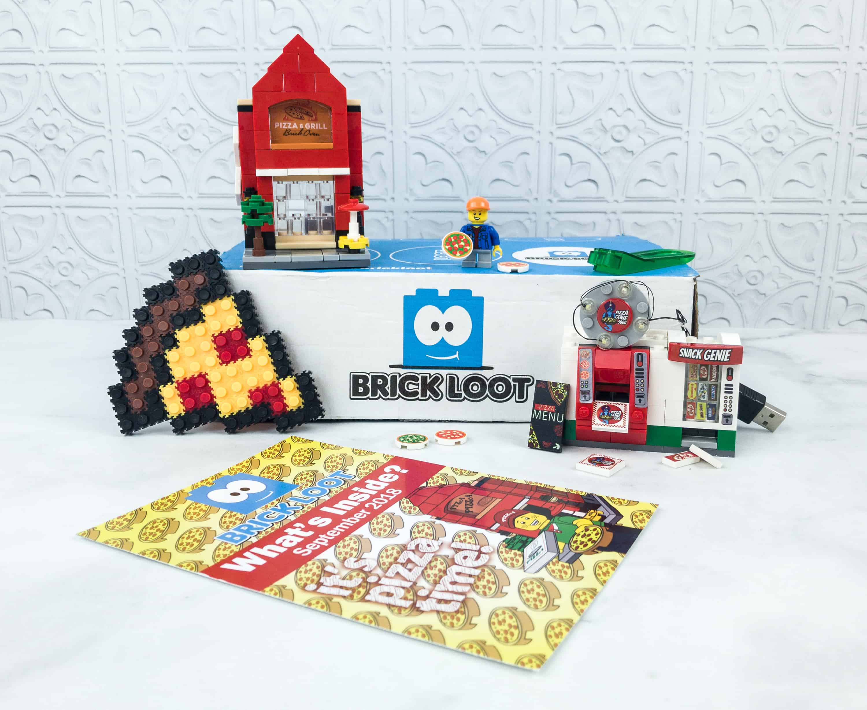 Brick Loot September 2018 Subscription Box Review & Coupon