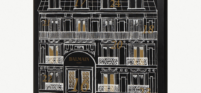 Balmain Advent Calendar 2018 Available Now!