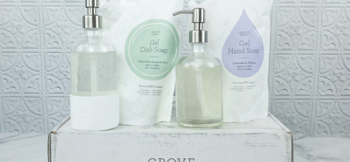 New Grove Collaborative Dish Soaps, Hand Soaps, and Bottles Available Now – Full Review + Coupon!