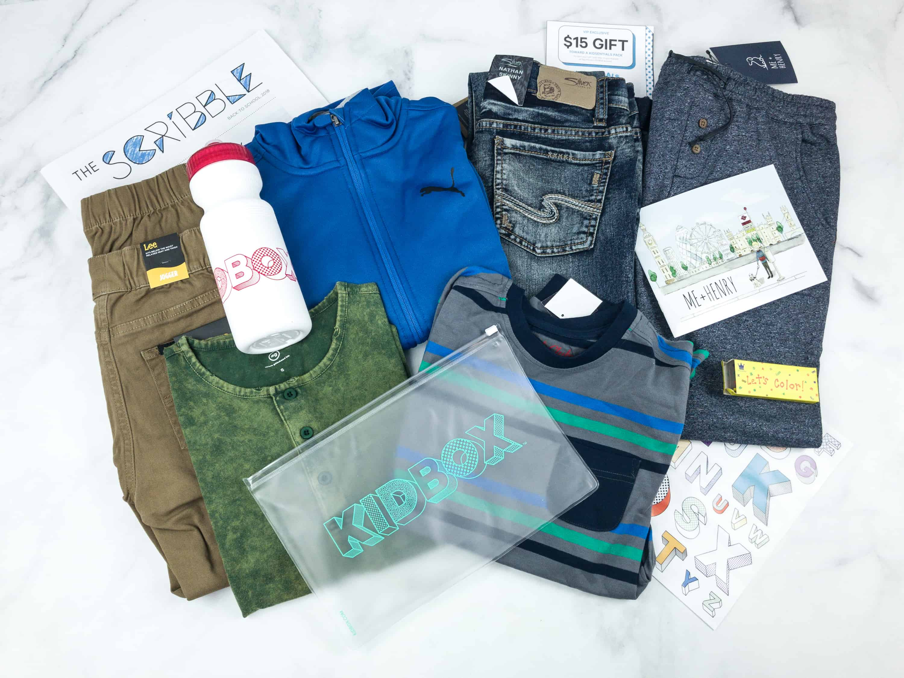 Kidbox Boys Fall 2018 Subscription Box Review + Coupon – Big Boys