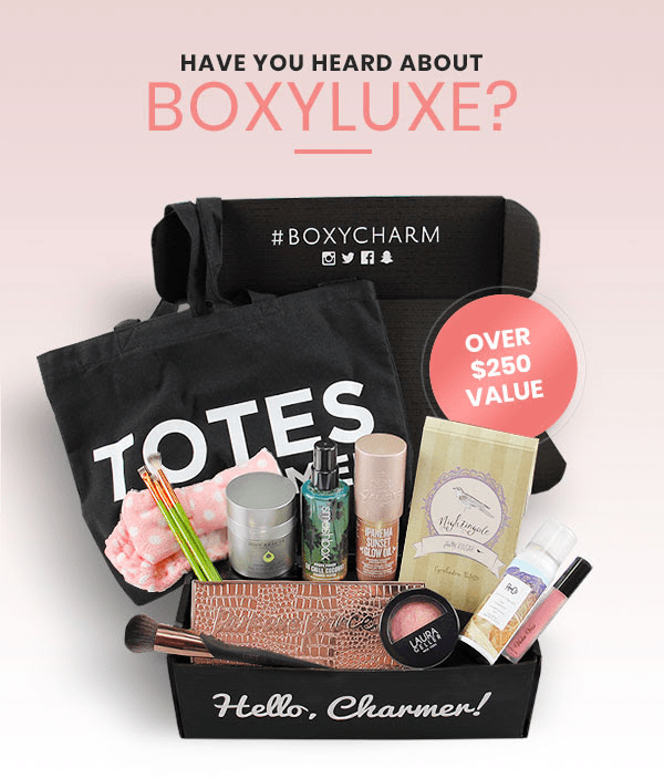BoxyLuxe by BOXYCHARM December 2018 Waitlist Open!