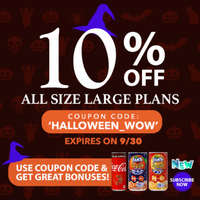 WowBox Halloween Sale: Get 10% Off Large Plans + FREE Bonus Items!