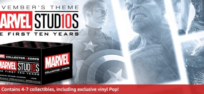 Marvel Collector Corps November 2018 Full Spoilers!