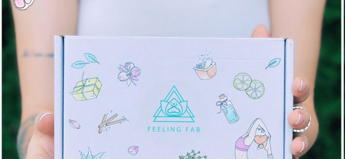 Feeling Fab Box March 2019 Spoilers + Coupon!