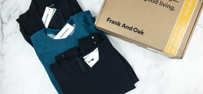 Frank And Oak Women's Style Plan September 2018 Review