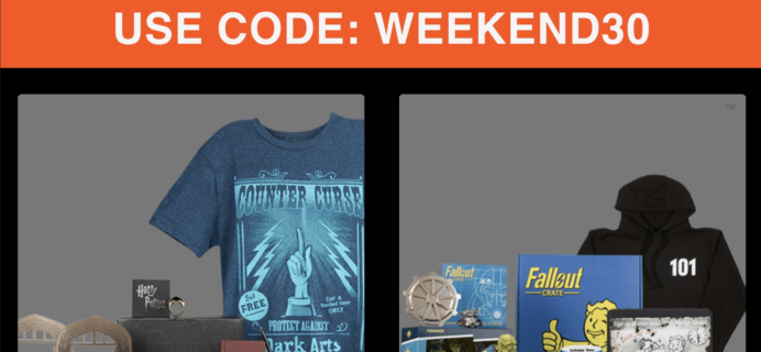 Loot Crate Coupon: Save 30% on Wizarding World & Fallout Crate!