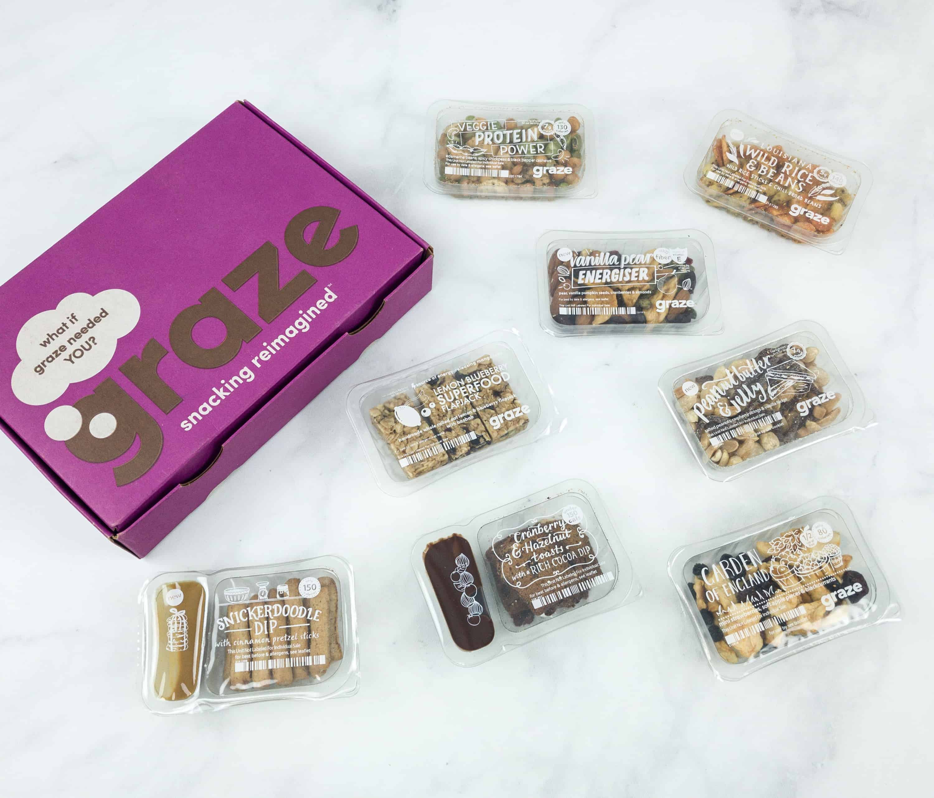 Graze Variety Box Review & Free Box Coupon – October 2018