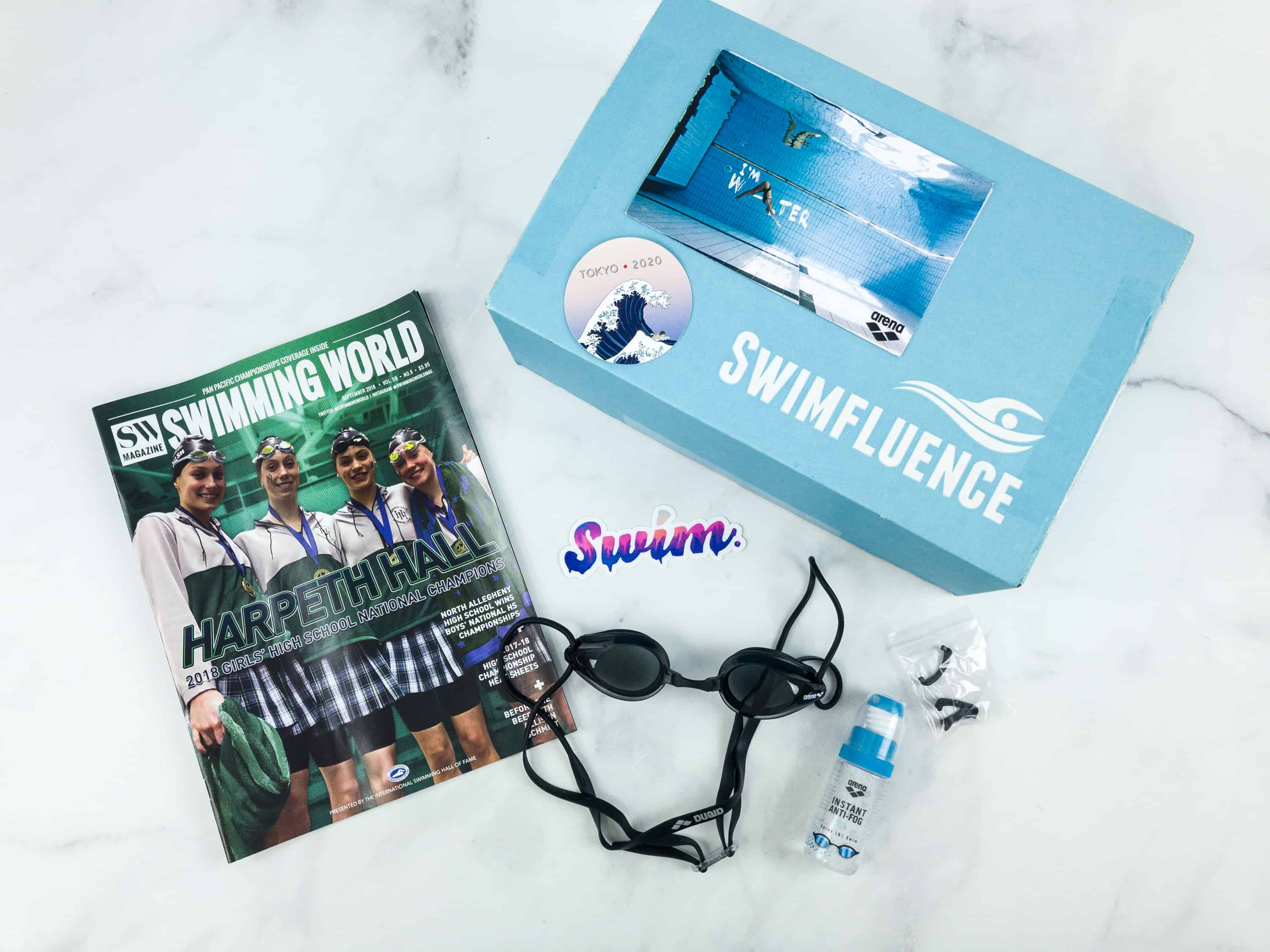 Swimfluence September 2018 Subscription Box Review