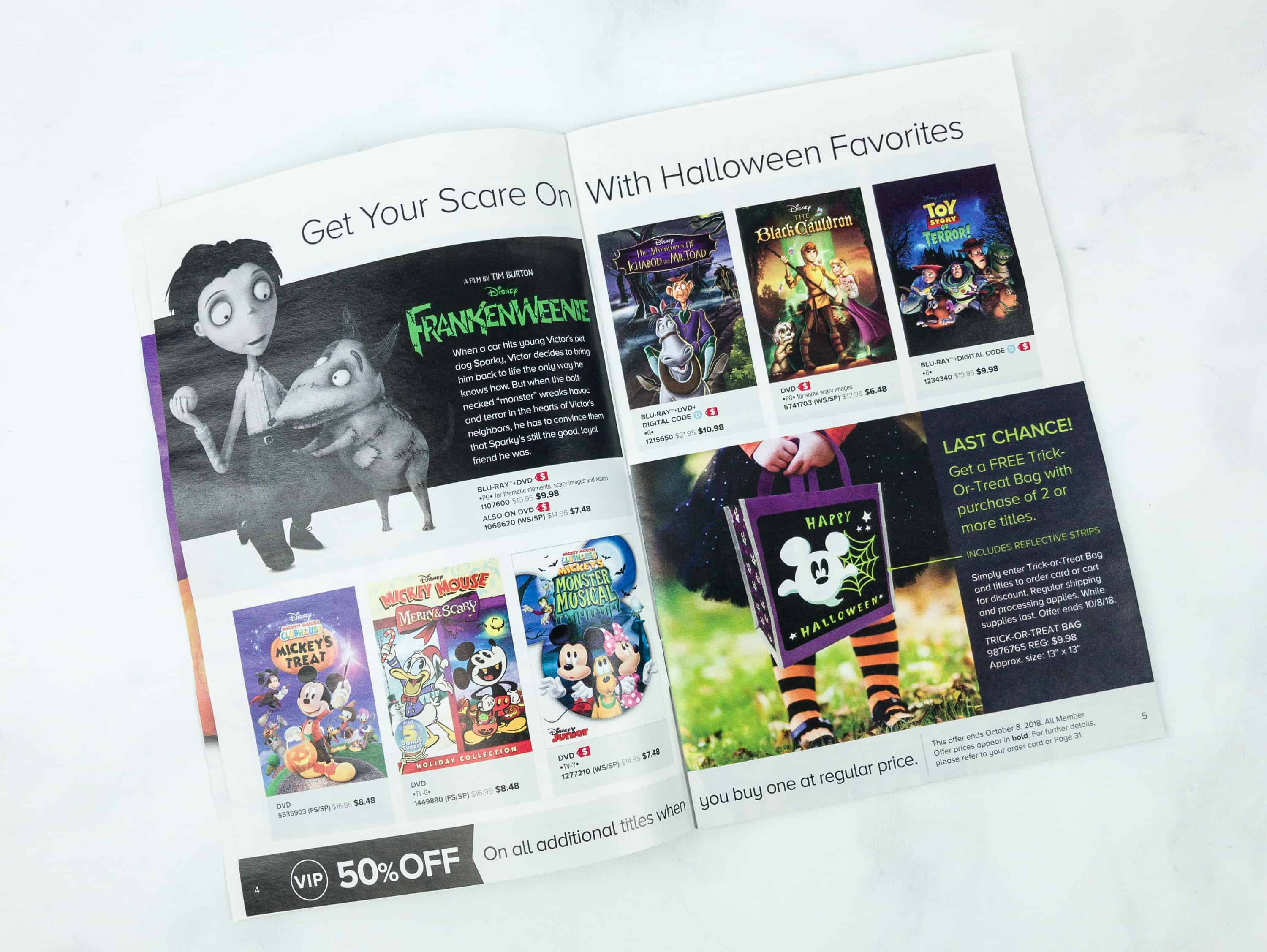 Disney Movie Club October 2018 Review + Coupon! - hello