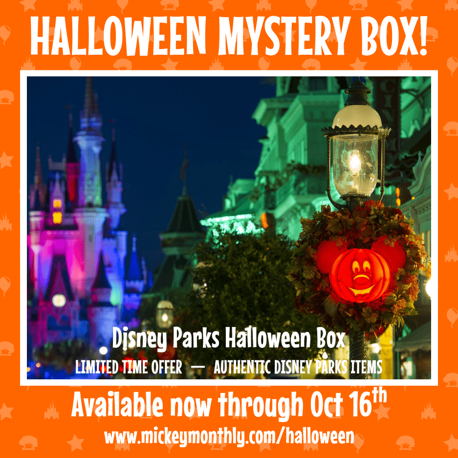 Mickey Monthly Halloween Mystery Boxes Available Now!