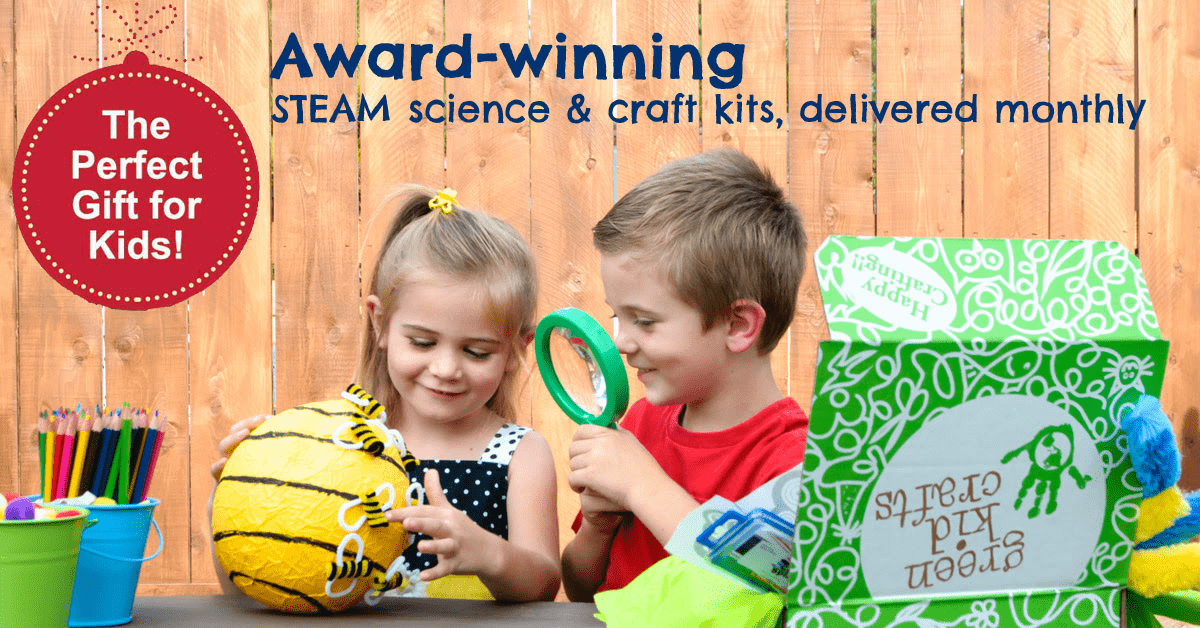 Green Kid Crafts Coupon: Get 50% Off Junior and Discovery Box Subscription!