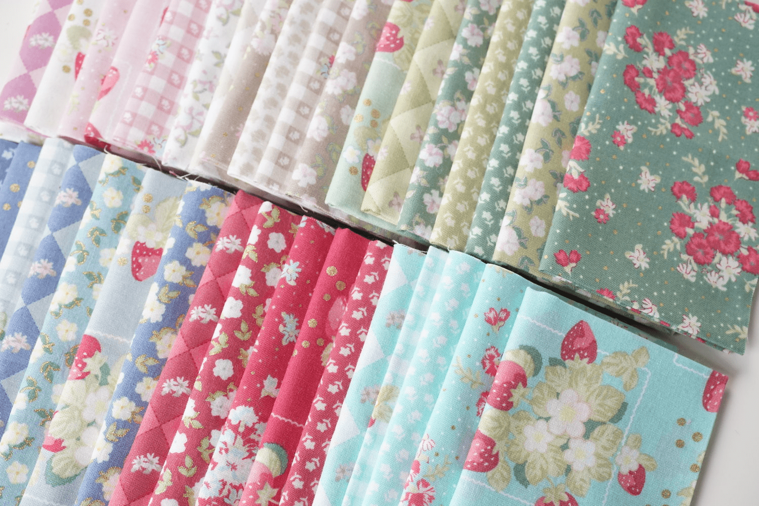 Quilty Box Deal: Get The La Conner Fat Quarter Bundle For Only $9.99!
