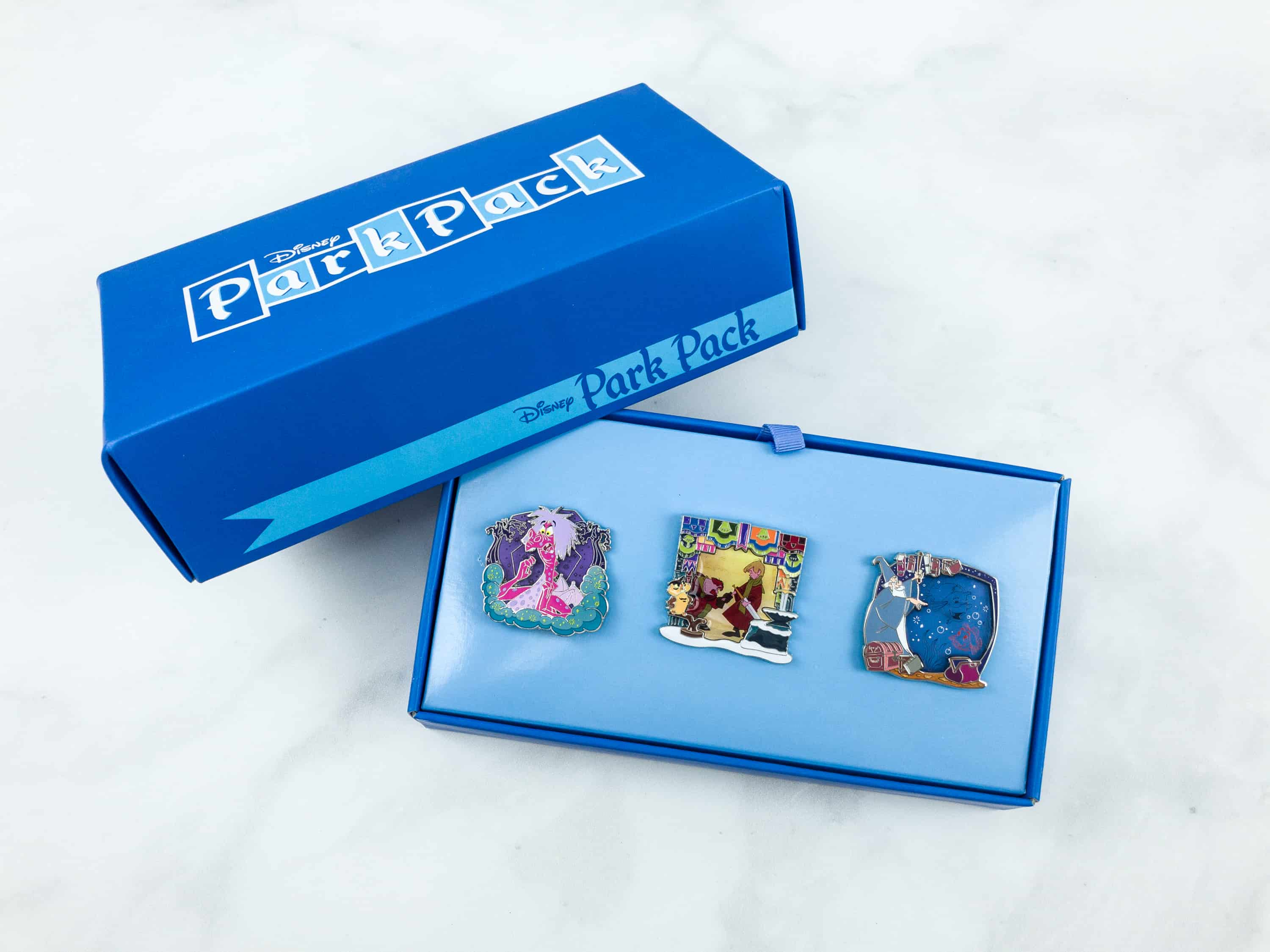 Disney Park Pack Pin Edition 3.0 September 2018 Subscription Box Review