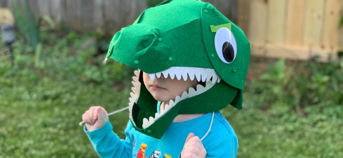 KiwiCo Halloween Crate 2018 Review & Coupon – CHOMPING MECHANICAL DINOSAUR