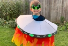KiwiCo Halloween Costume Crate Review – LIGHT-UP ALIEN SPACESHIP