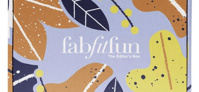 FabFitFun Fall 2018 Editor's Box Full Spoilers!
