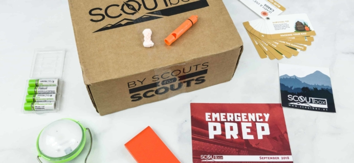 SCOUTbox September 2018 Subscription Box Review + Coupon