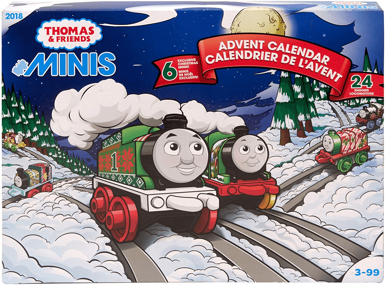 2018 Fisher-Price Thomas & Friends MINIS Advent Calendar Available Now!