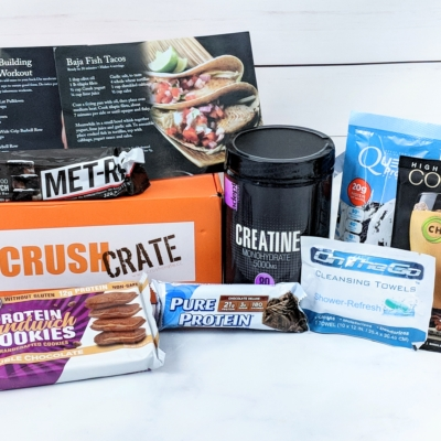 Crush Crate Subscription Box Review – August 2018