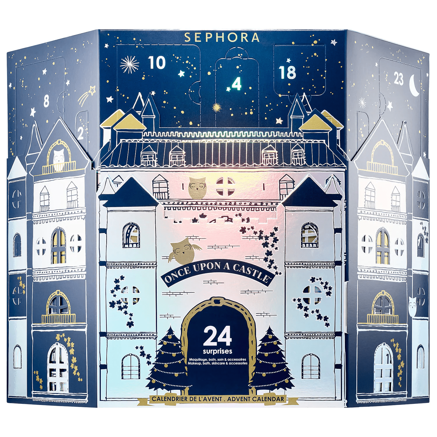 18936f999997c The 2018 Sephora Collection Once Upon A Castle Advent Calendar is available  now! It s totally exclusive to Sephora for  45 with free shipping.