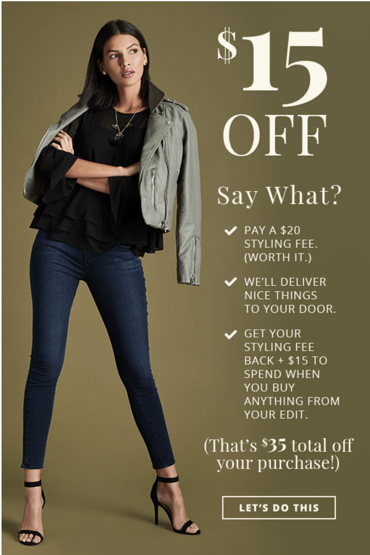 Wantable Style OR Fitness Edit Coupon: Styling Fee $15 Off!