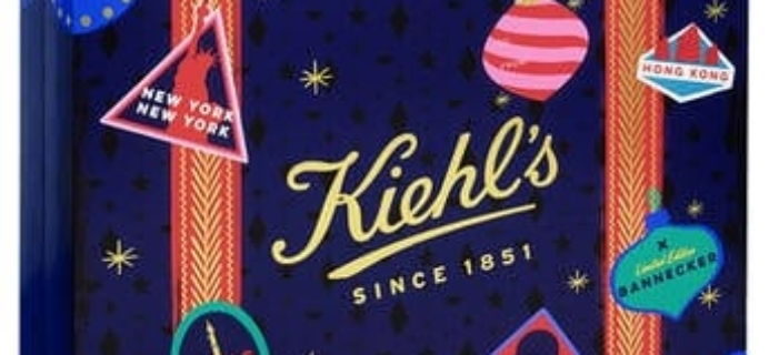Kiehl's Beauty Advent Calendar 2018 Available Now + Full Spoilers!
