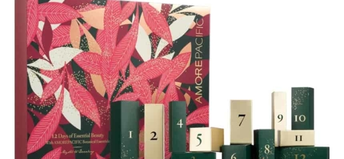 2018 AMOREPACIFIC Beauty Advent Calendar Available Now + Full Spoilers!