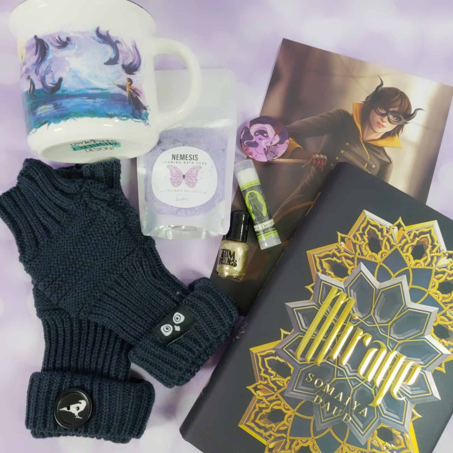OwlCrate September 2018 Subscription Box Review + Coupon