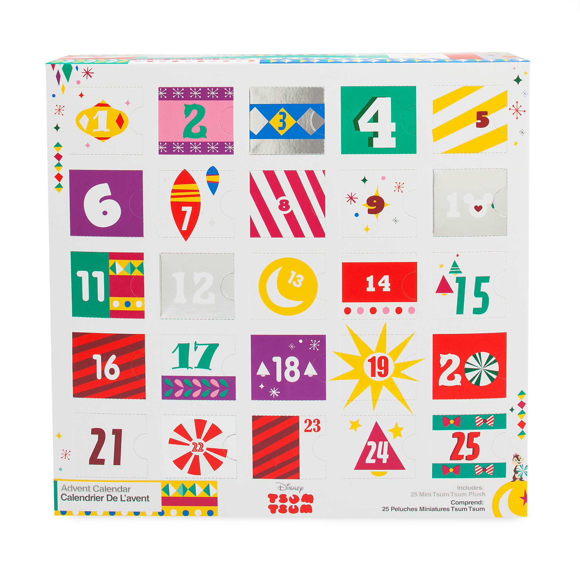 2018 Plush Tsum Tsum Disney Store Exclusive Advent Calendar Available Now + Full Spoilers!