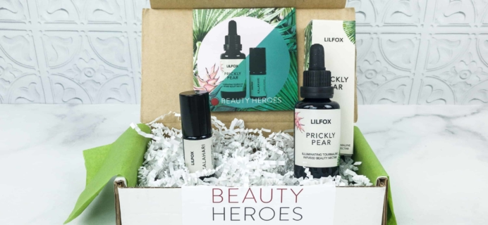 Beauty Heroes October 2018 Subscription Box Review