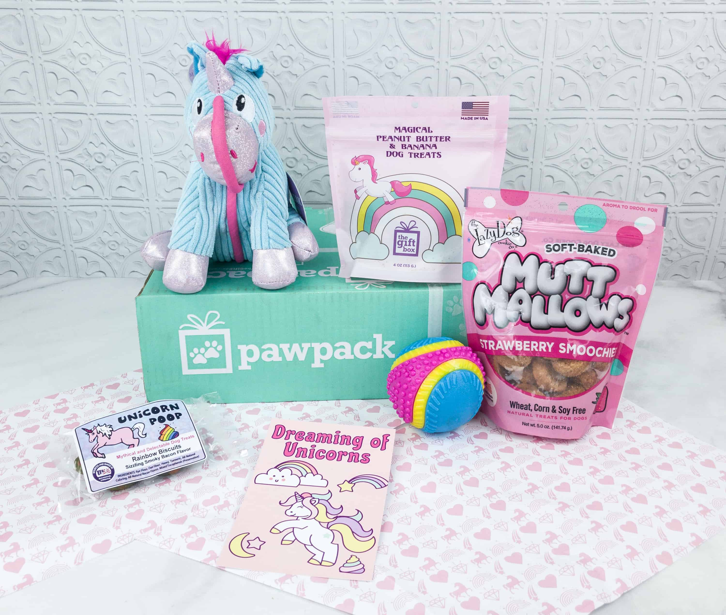 PawPack Dog Subscription Box Review + Coupon – September 2018