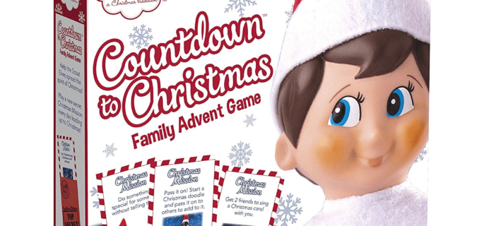 The 2018 Elf on The Shelf Advent Calendar Available Now + Full Spoilers!