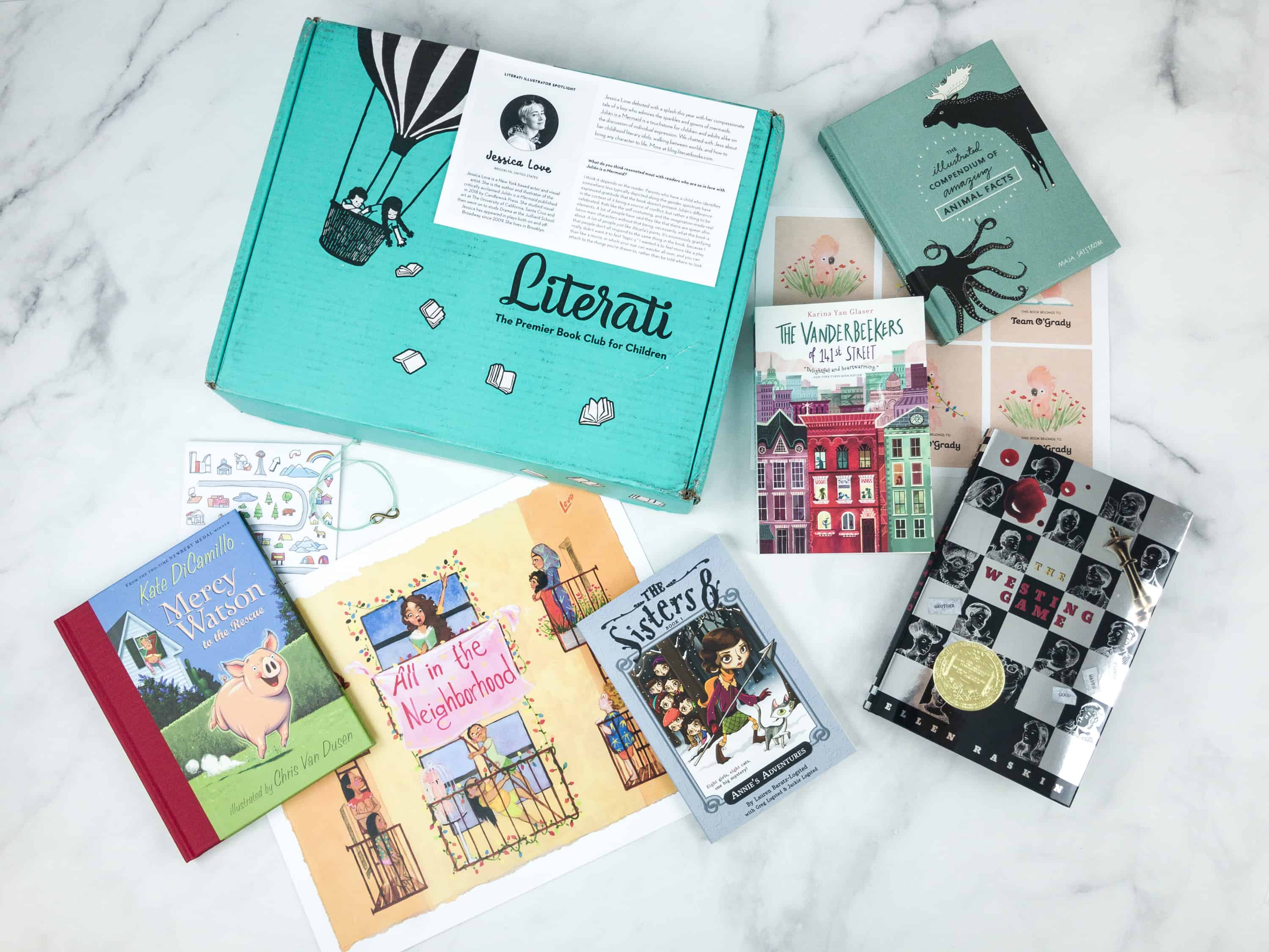Literati Club Sage Box Review + Coupon – September 2018