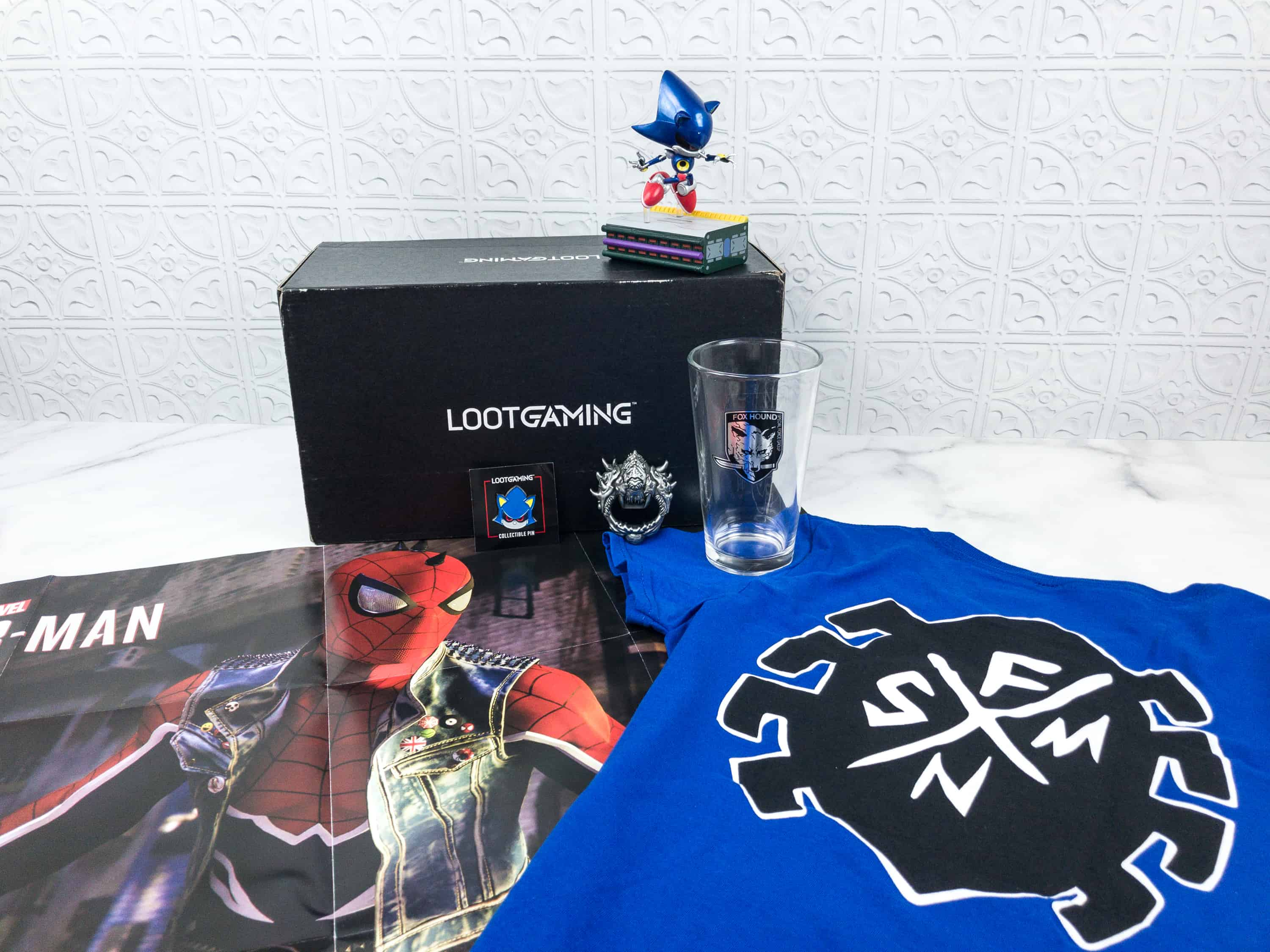 Loot Gaming September 2018 Subscription Box Review & Coupon
