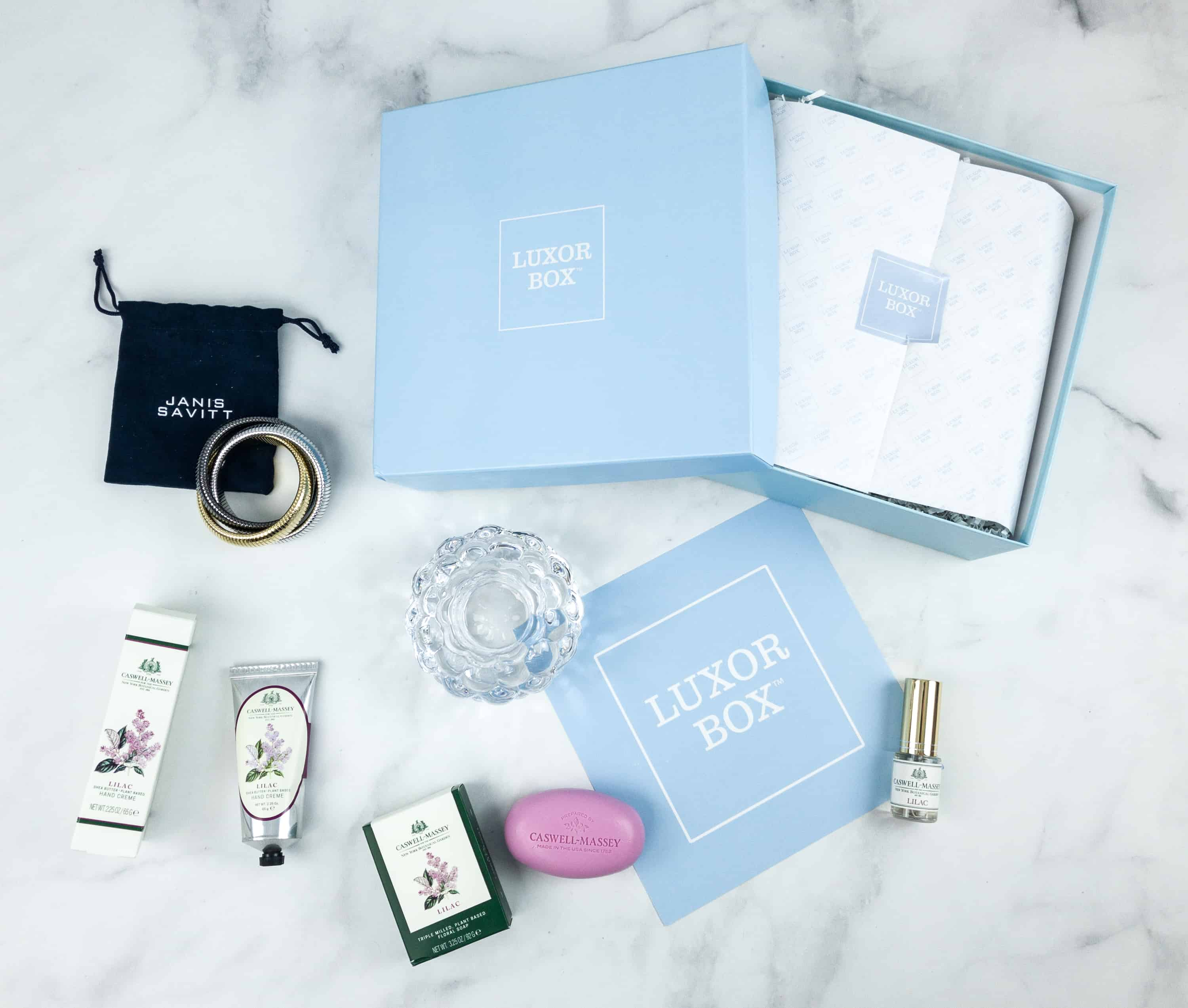 Luxor Box September 2018 Subscription Box Review